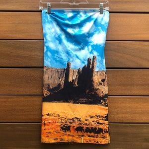 Desert tube dress.